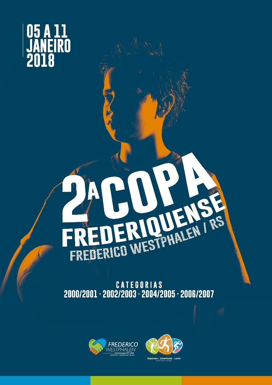 Categoria sub-11 da Copa Frederiquense é definida  67f5728ce9b61